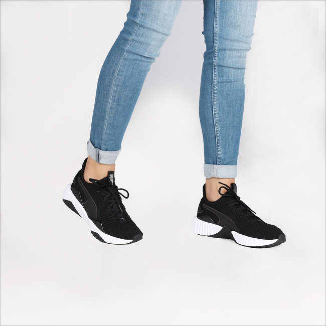 White PUMA Sneakers DEFY WMN