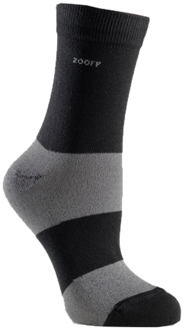 Black ZOOFF Socks SKIM - large