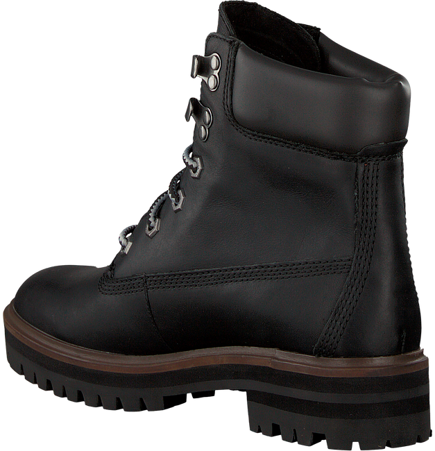 Black TIMBERLAND Lace-up boots LONDON SQUARE 6IN BOOT - large