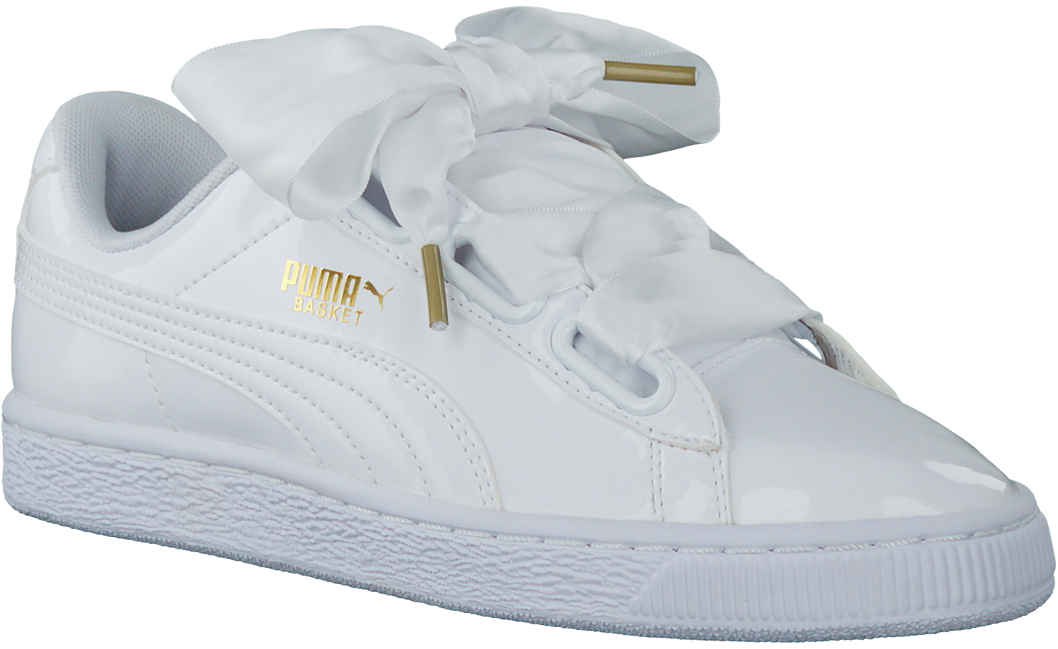 Omoda White Heart Sneakers Puma Patent Basket htQsCrd
