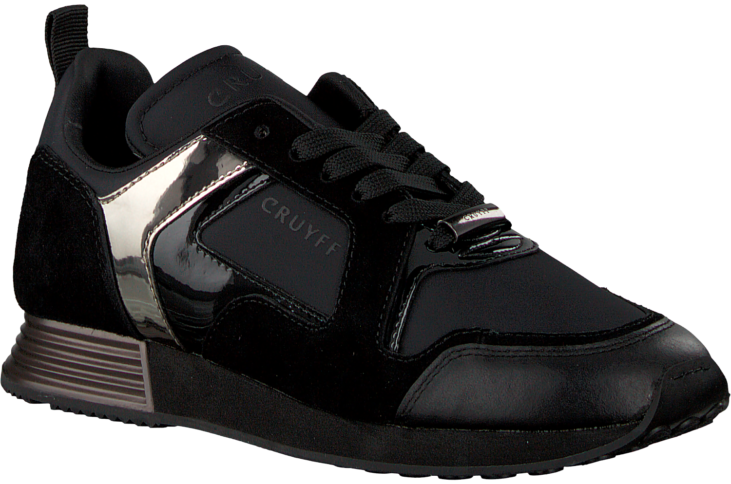 6523a479682 Black CRUYFF CLASSICS Sneakers LUSSO WOMAN - large. Next