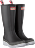 Blue HUNTER Rain boots WOMENS PLAY TALL SPECKLE SOLE  - small