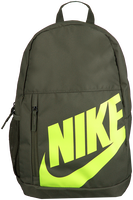 Green NIKE Backpack NIKE ELEMENTAL  - medium