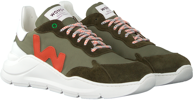 Green WOMSH Low sneakers WAVE  - large