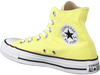 Yellow CONVERSE Sneakers CHUCK TAYLOR ALL STAR HI DAMES  - small