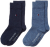 Blue TOMMY HILFIGER Socks TH CHILDREN SOCK TH BASIC 2P - small