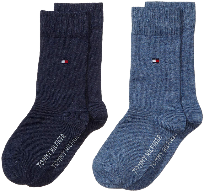 Blue TOMMY HILFIGER Socks TH CHILDREN SOCK TH BASIC 2P - large