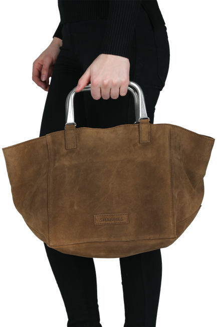 Brown SHABBIES Handbag 212020004 - large