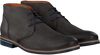 Grey VAN LIER Business shoes 1855602 - small