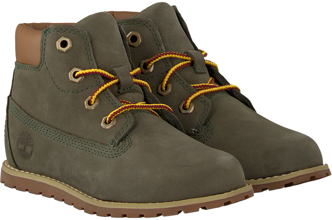 Grey TIMBERLAND Classic ankle boots POKEY PINE 6IN BOOT KIDS - large