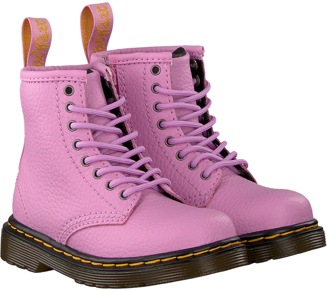 Pink DR MARTENS Lace-up boots DELANEY/BROOKLY - large