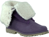 Purple TIMBERLAND Ankle boots 6IN WP SHEARLING BOOT - small