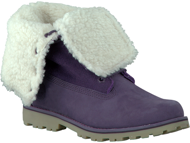 Purple TIMBERLAND Ankle boots 6IN WP SHEARLING BOOT - large