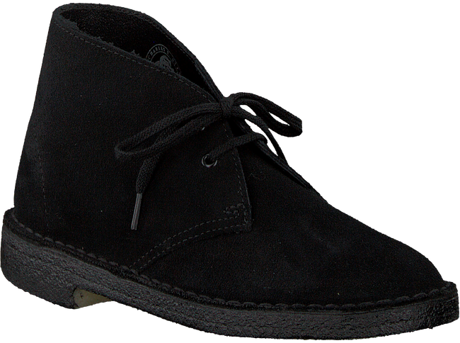 Black CLARKS Lace-up boots DESERT BOOT DAMES - large