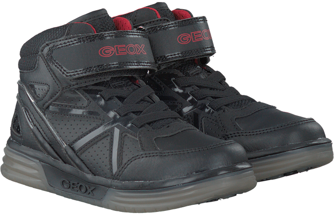 Black GEOX Sneakers J5429C - large