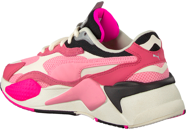 Pink PUMA Low sneakers RS-X3 PUZZLE  - large
