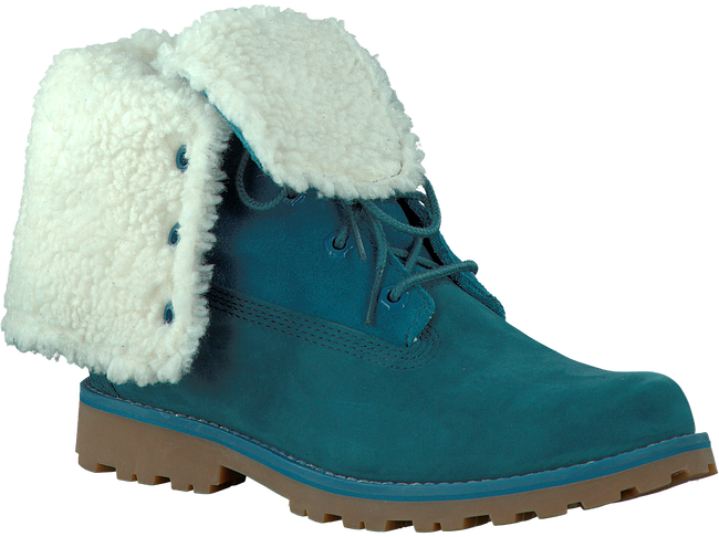 Blue TIMBERLAND Ankle boots 6IN WP SHEARLING BOOT - large