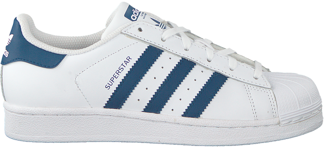 White ADIDAS Sneakers SUPERSTAR J  - large