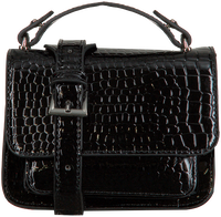 Black HVISK Shoulder bag RENEI CROCO  - medium