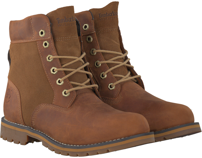 Cognac TIMBERLAND Ankle boots LARCHMONT 6IN WP BOOT - large