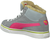Grey PUMA Sneakers PUMA MID VULC FUR JR - small