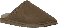 Green WARMBAT Slippers CLASSIC UNISEX SUEDE - medium