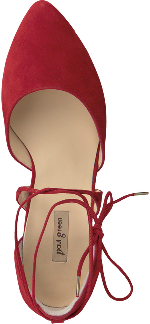 Red PAUL GREEN Ballet pumps 3399 - large