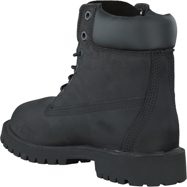 Black TIMBERLAND High boots 6IN PREMIUM - large