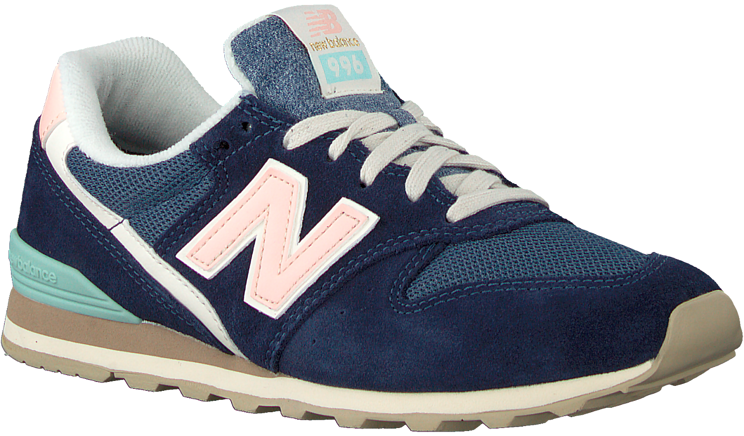 Blue NEW BALANCE Low sneakers WL996 - Omoda.com