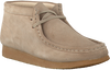 Beige CLARKS Lace-ups WALLABEE BOOT - small