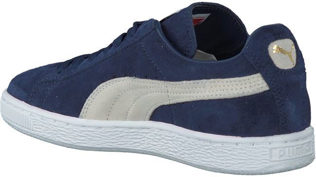 Blue PUMA Sneakers SUEDE CLASSIC+ DAMES - large