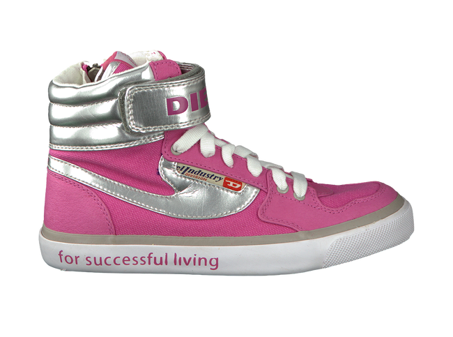 Pink DIESEL Sneakers REVOLUTION CLAW - large