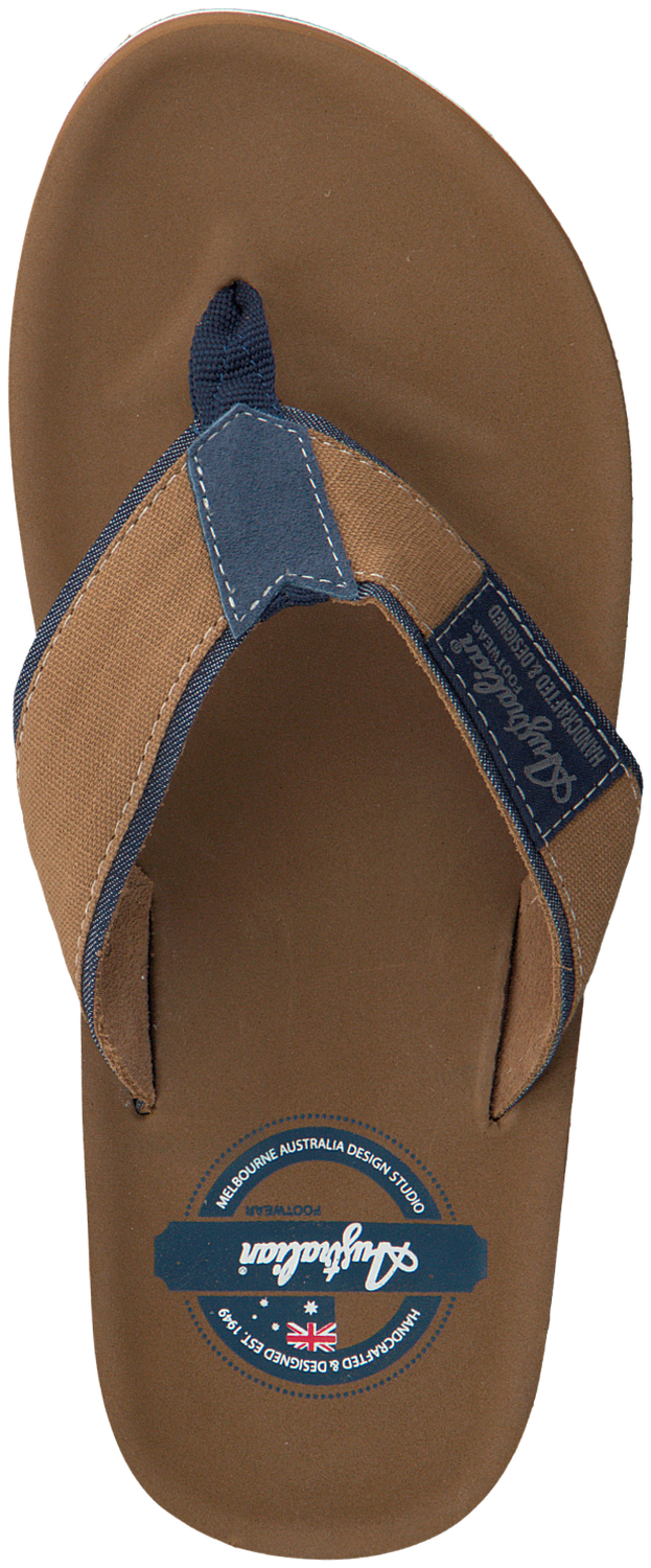 2d01f66215b98 Brown AUSTRALIAN Flip flops SANDFORT AT SEA - large. Next