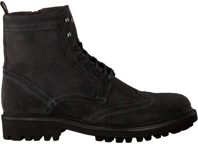 Grey MAZZELTOV Lace-up boots 9942A  - large