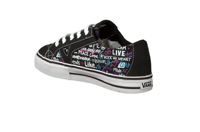 Black VANS Sneakers TORY KIDS - large