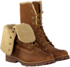 Cognac TIMBERLAND Ankle boots 6IN WP SHEARLING BOOT - small