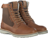 Cognac BJORN BORG Lace-up boots MILAN GR HIGH FUR - small