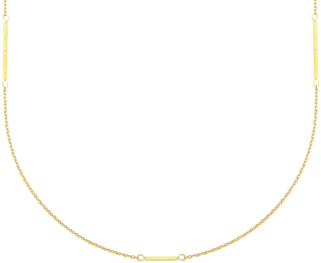 Gold JEWELLERY BY SOPHIE Necklace LONG NECKLACE - large