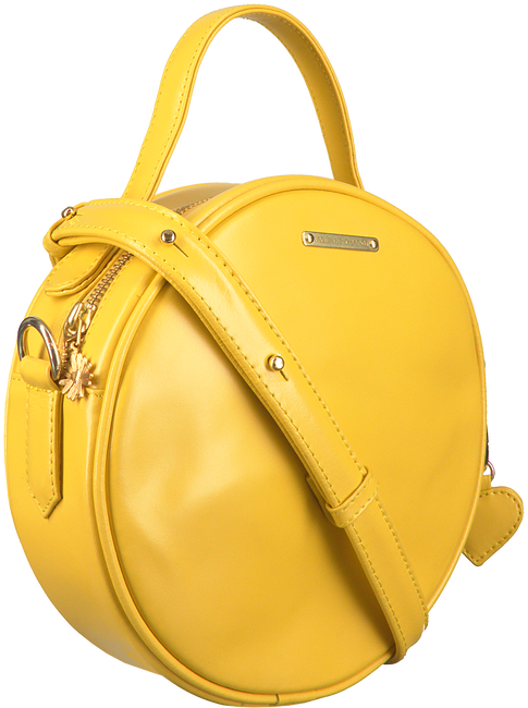 Yellow FABIENNE CHAPOT Shoulder bag ROUNDY BAG  - large