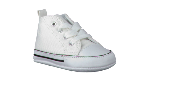 White CONVERSE Baby shoes FIRST STAR - large