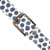 White REHAB Belt BELT SPOTS LIZ - small