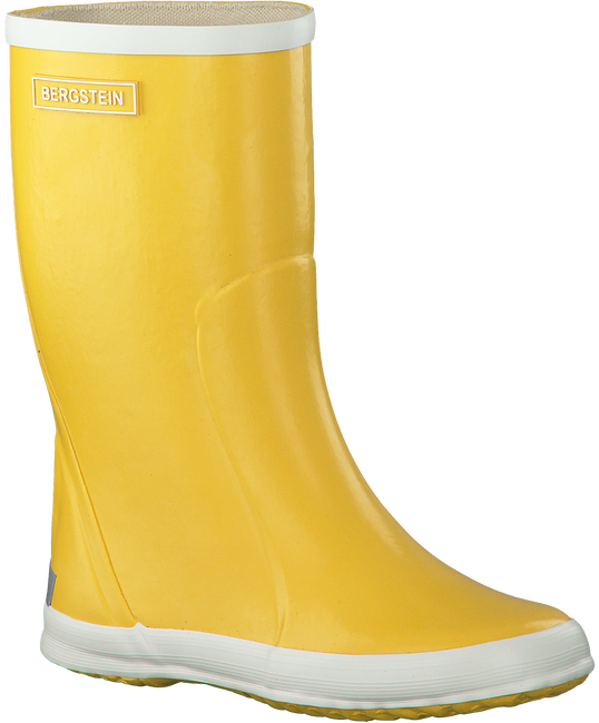 Yellow BERGSTEIN Rain boots RAINBOOT - large