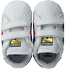 White ADIDAS Baby shoes SUPERSTAR CRIB - small