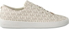 White MICHAEL KORS Sneakers KEATON LACE UP - small