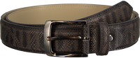 Grey REHAB Belt BELT SNAKE STRIPES - medium