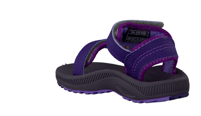 Purple TEVA Sandals PSYCLONE - large