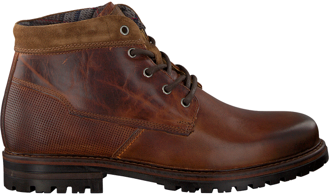 Cognac OMODA Lace-up boots 710056 - large