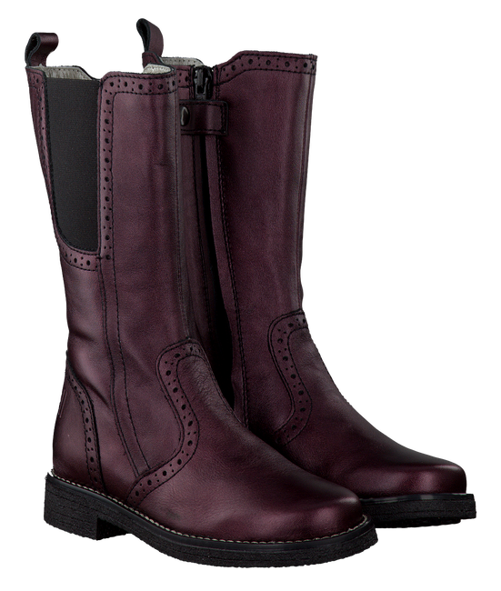 Red BO-BELL High boots POCAHOL - large