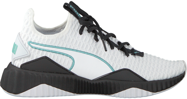 White PUMA Sneakers DEFY WMN - large