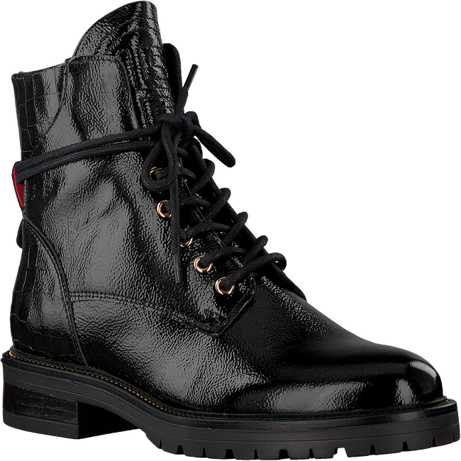 Black HABOOB Lace-up boots P6668  - large
